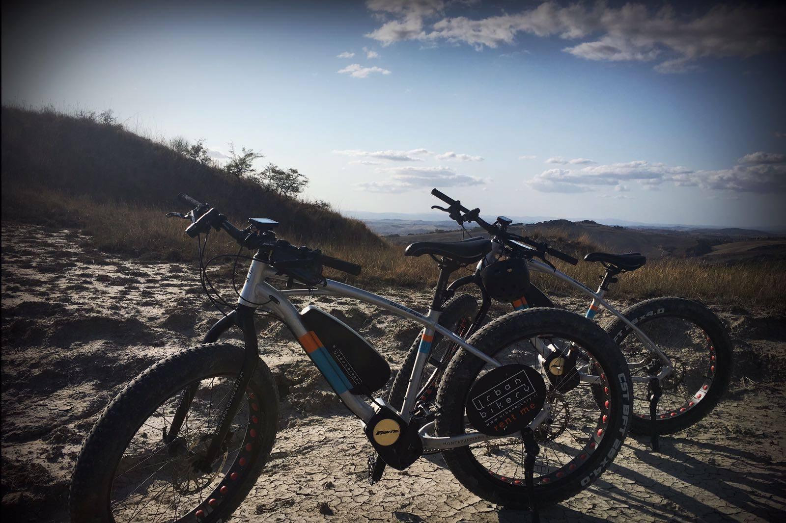 visit montepulciano e-bike urban bikery