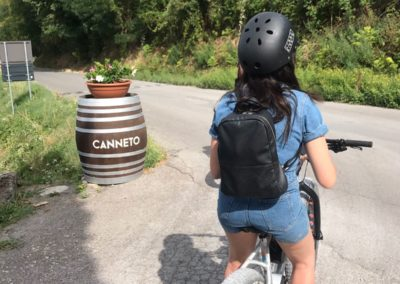 wine tasting urban bikery canneto