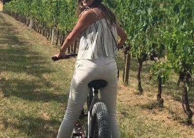 wine tasting urban bikery