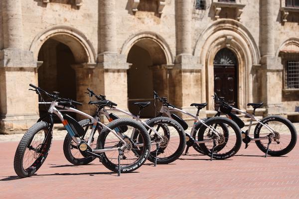 e-bike rental in montepulciano urban bikery