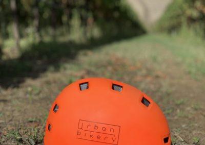 yoga in vineyard urban bikery helmet